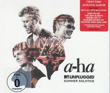 a-ha / MTV Unplugged - Summer Solstice - Limited Edition -2 CDs & 1 DVD (NEW)
