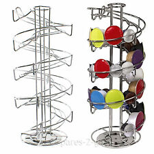 Revolving 40 Capsule Spiral Pod Holder Tower Stand Rack for Krups Coffee Machine