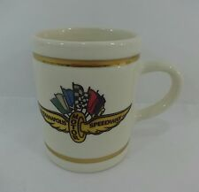 1997 Indianapolis 500 Collectors Winners Coffee Cup Arie Luyendyk Treadway Racin