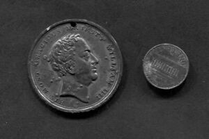Medal  King William IV   Queen  Adelaide  1830