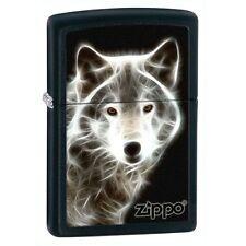 Zippo Windproof White Wolf Lighter, 28303, New In Box