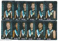 2015 Teamcoach PORT ADELAIDE Silver Team Set