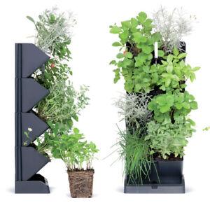 Vertikaler Garten 4 Tasche Cascade Wall Pflanzgefäß Pflanzwand Blumentopf