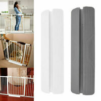 Baby Pet Gate Dog Safety Folding Fence Home Doorway Extra Wide Walk