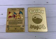 Custom Charizard Base Set Gold Card