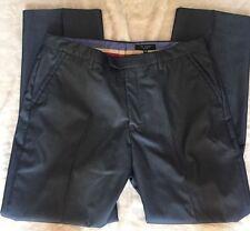 TED BAKER LONDON Gray MEN'S DRESS PANTS Straight Leg