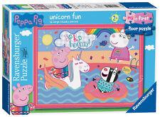 05065 Ravensburger Peppa Pig Unicorn My First Floor Jigsaw Puzzle 16pc 24 Months