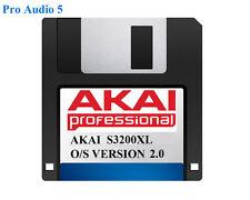 AKAI s3200xl sistema operativo su floppy disk più recente versione 2.00