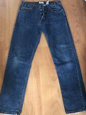 Mens Armani Jeans Size W34 L32 Dark Wash Straight Leg