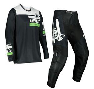 Leatt 2022 Youth Motocross Kit Moto 3.5 Ride 28w/XL  Black New In