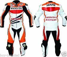Repsol in Pelle Per Moto Tuta Da Motociclista in Cuoio Leather Suit Racing One Piece
