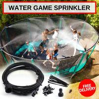 Trampoline Sprinklers for Kids, Trampoline Spray Water Park Fun Summer Water hot