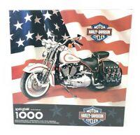 Harley Davidson Motorycycles 1000 Piece Puzzle PZL6198 Springbok 1998