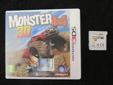 3DS : MONSTER 4X4 3D - ITA ! Compatibile 2DS e New 3DS XL