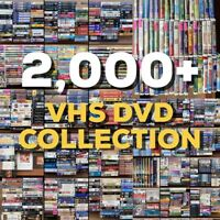 2k VHS DVD Movie Collection DISNEY Black Diamond RARE Horror Tape OOP Promo Lot