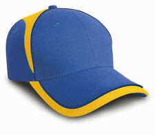Result Headwear 6 Panel National Cap Baseball Style Hat Country Colours Unisex