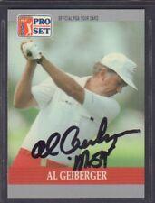 Al Geiberger 1990 PGA Tour Pro Set #95 Autographed Signed jhpsg