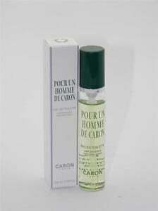 Pour Un Homme de Caron EDT Travel Spray 15ml 0.5 fl oz New In Box