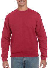 Cotton Crew Neck Sweatpants Plain Hoodies & Sweats for Men