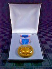 Jr Rotc Medal Superior Cadet Award Original Case w/Lapel Pin & Ribbon Bar