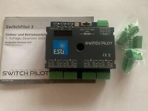 +++ ESU SwitchPilot 3, 4-fach Magnetartikel, DCC/MM, OLED 51830 ersetzt 51820