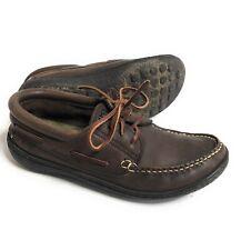 Camper Mens Slip On Leather Boat Shoes 42