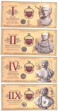 Italia set 7 banknotes Seria ROMAN EMPIRE UNC (5361)