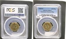 BRD 10 Pfennig 1949 F  Polierte Platte (PP, Proof) PCGS PR65