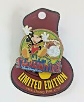WDW - Happy Thanksgiving 2007 - Mickey Mouse - Pin 57651