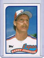 1989 Topps RANDY JOHNSON Rookie Card 647 NM-MT Pack Pull HOF Baseball Expos