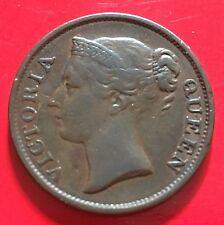 Straits Victoria 1/2 Half cent 1845WW(b)