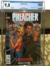 Preacher 19 CGC 9.8 White Pages!