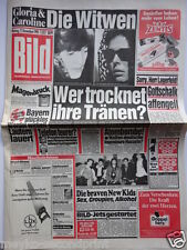 Bild Zeitung - 17.12.1990, Lotti Huber, New Kids on the Block, Annie Lennox