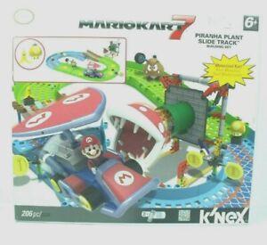 Mario Kart 7 K'nex Piranha Plant Slide Track  Set Nintendo 100% Complete (xli)