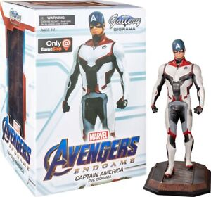 "CAPTAIN AMERICA Team Suit 9"" Marvel Gallery PVC Diorama Statue (Diamond Select)"