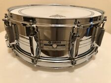 "Yamaha SD-955M Steel Snare Drum 5.5x14"" 9000 Recording Custom 1987 Vintage"