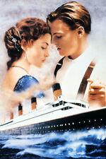 Kate Winslet, Leonardo DiCaprio Titanic cruise ship 11x17 Mini Poster