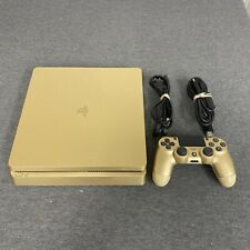 Sony PS4 Slim Gold 1TB Special Ed Console With Controller