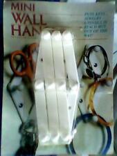 Mini Wall Hanger for keys, jewelry, utensils etc White - cheap