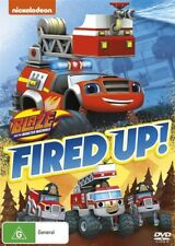 NEW Blaze And The Monster Machines - Fired Up! - DVD Region 4