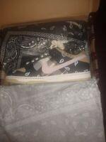 Size 8.5- Nike SB Dunk Low Premium QS x Travis Scott Cactus Jack 2020