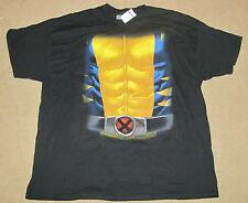 MEDIUM MARVEL MENS T-SHIRT THE WOLVERINE X-MEN LOGAN SUPER HERO COMICS 38/40 NEW