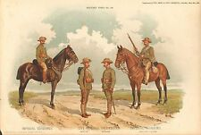 More details for 1900 richard simkin military print, 149 imperial yeomanry, city imperial volunte