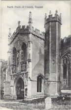 THAXTED( Essex) : North Porch of Church - WHITE