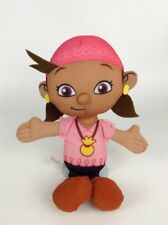 2011 Fisher Price Jake and the Neverland Pirates Izzy Talking Plush Stuffed Toy