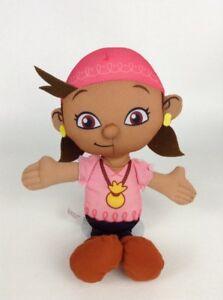 "Jake and the Neverland Pirates Izzy 11"" Plush Stuffed Toy Fisher Price 2011"