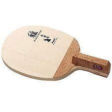 New Nittaku Table Tennis Racket MIYABI ROUND NE-6692 Pen Cypress Wood.
