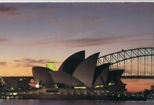 Stamps 1988 Australia USA joint issue Sydney Opera House promotional card