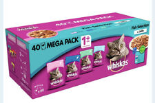 Whiskas 1+ Fish Selection in Jelly Cat Food Mega Pack (40 x 100g)