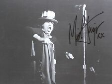 "MICK JAGGER SIGNED AUTOGRAPH PHOTO 8"" X 10"", free shipping"